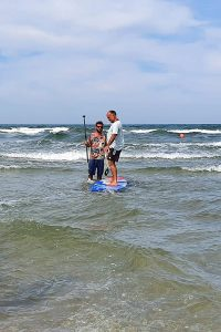 Wassersport Kurs in Binz: Stand Up Paddling (SUP)