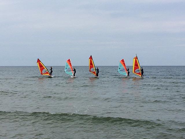 Surfkurse für Fortgeschrittene in Binz